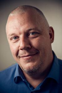 Det här är mitt sätt att bidra, säger Patrik Karlsson som initierade samarbetet mellan Ingram Micro Mobility och Samhall.