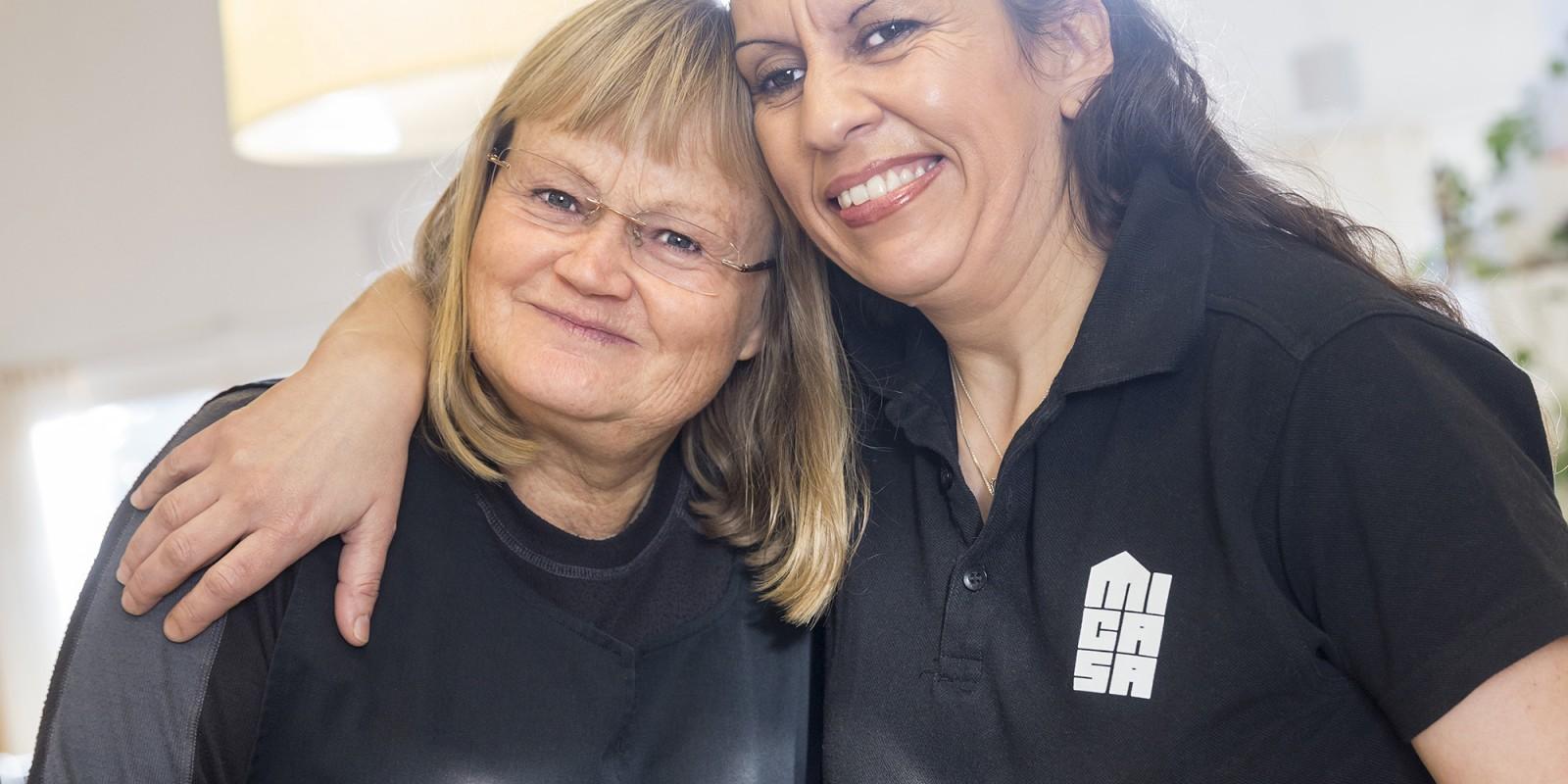 Monica Haugli och Paula Vasquez är två av Micasas 24 värdar i Stockholm.