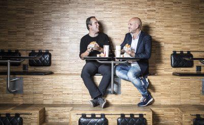 Kaj Török och Christoffer Bergfors
