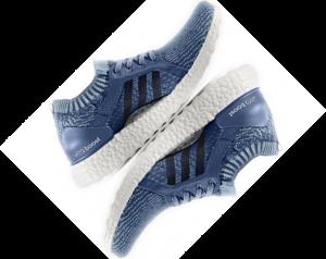 Adidas Parley skor, gjorda av plastflaskor