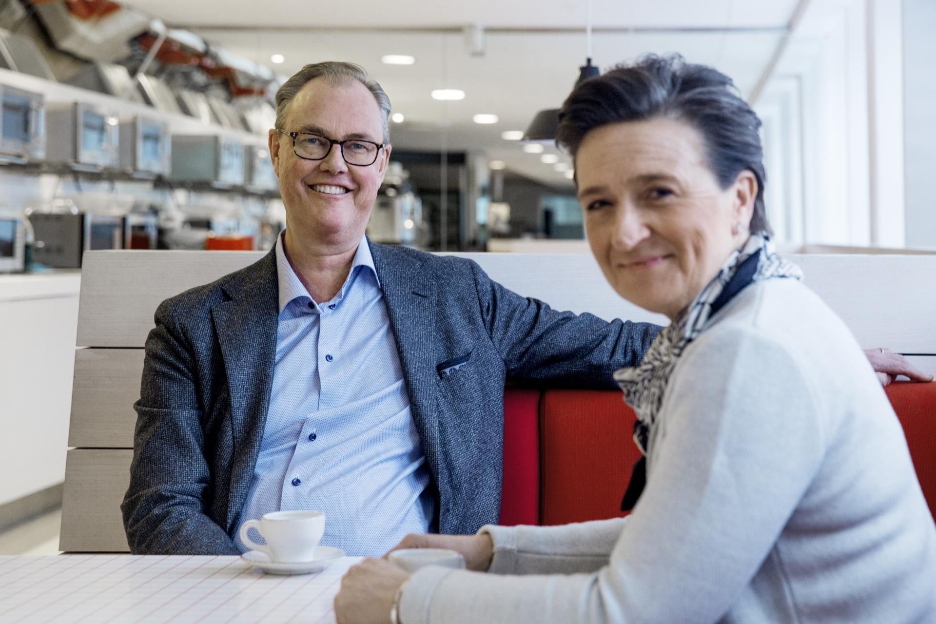 För Per Strömberg är mångfald och ett gott ledarskap viktiga begrepp. Han minns själv hur det var på hans första jobb, och han tränade upp sin sociala kompetens när han jobbade inom vården som tonåring.